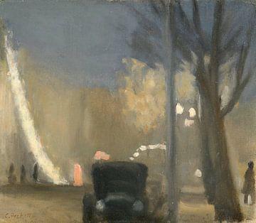 Clarice Beckett-Collins Street, Abend