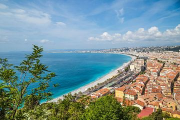NICE Promenade des Anglais van
