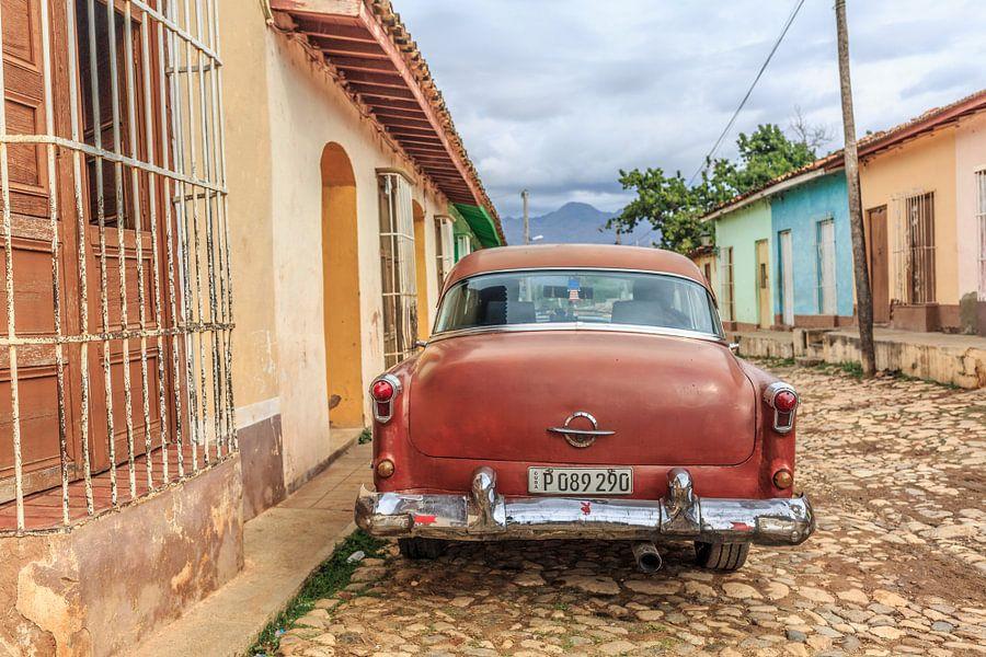 Oldtimer in Trinidad van Petra Cremers