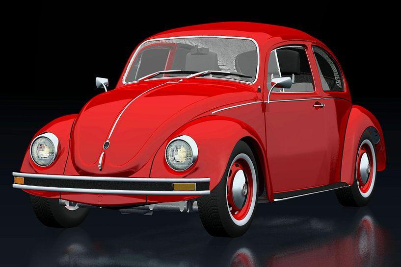 Volkswagen Kever van Jan Keteleer
