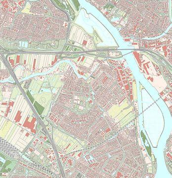 Kaart vanHendrik-Ido-Ambacht