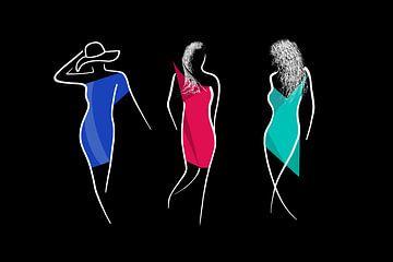 Three Models von Pa. Wowitto
