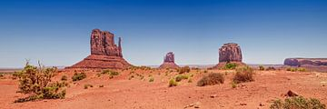 Monument Valley Panoramic van Melanie Viola