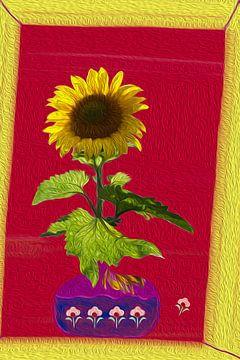 Zonnebloem van Susan Hol