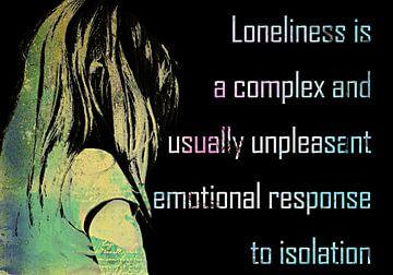 Loneliness von PictureWork - Digital artist