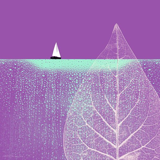 Ocean Wonderland I van Pia Schneider