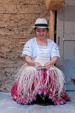 Ecuador: Hoedenmaker (Cuenca) van Maarten Verhees