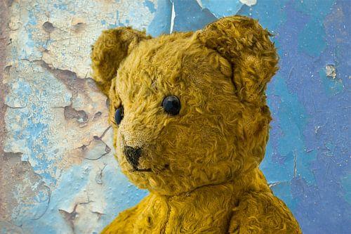 Oude teddybeer uit de 60-er jaren