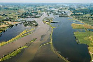 Wateroverlast rivier de IJssel