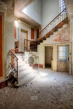 Treppe in sanften Farben von Roman Robroek