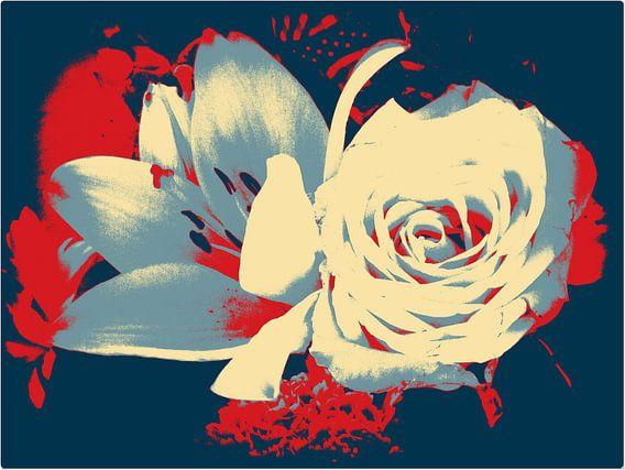 Rose & Lelie van  Nicky`s Prints