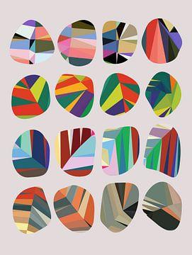 Abstracte samenstelling 712 van Angel Estevez