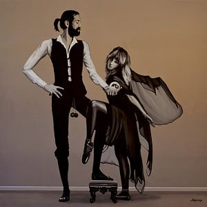 Fleetwood Mac Rumours schilderij