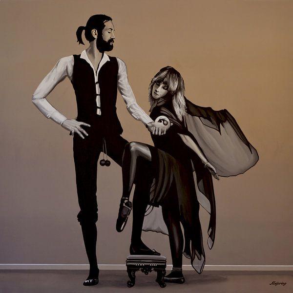 Fleetwood Mac Rumours schilderij van Paul Meijering