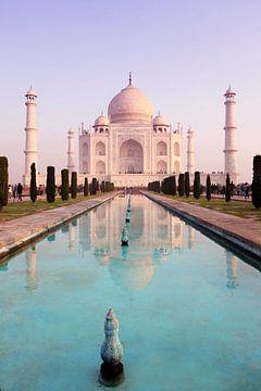 Taj Mahal, India van Pascal Lemlijn