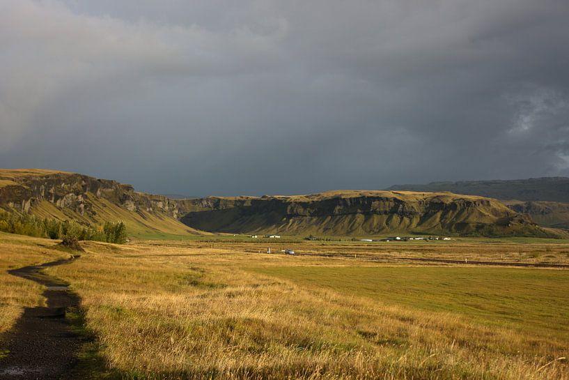 Zuid IJsland van Louise Poortvliet