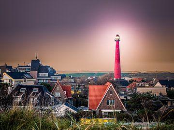 Leuchtturm Kijkduin (Lang-Japse) von Luc de Zeeuw