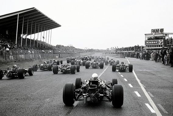 Start Grand Prix 1968 Zandvoort