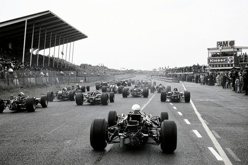 Start Grand Prix 1968 Zandvoort van Harry Hadders