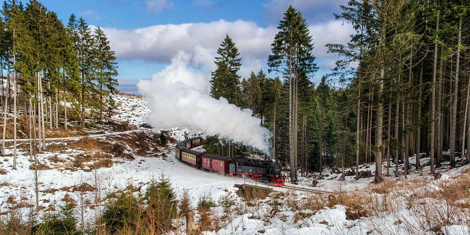 Old Locomotive van Steffen Gierok