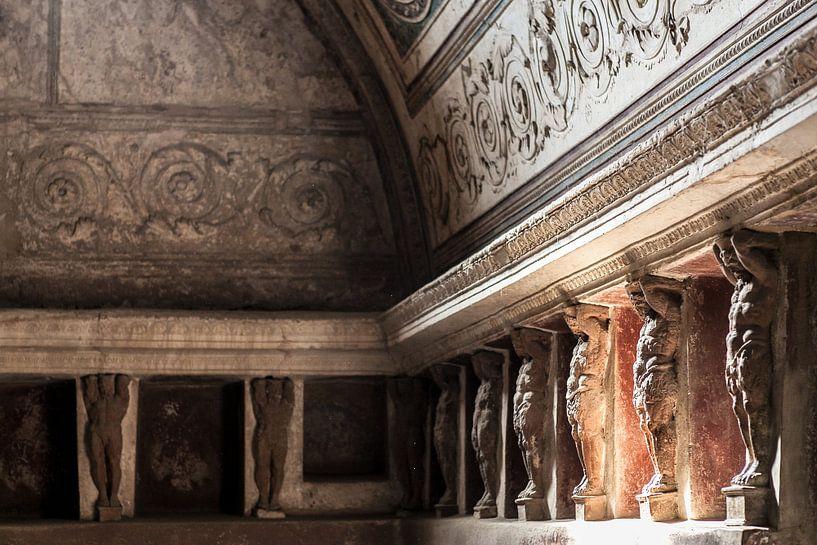 Badhuis in Pompeii van Wesley Flaman