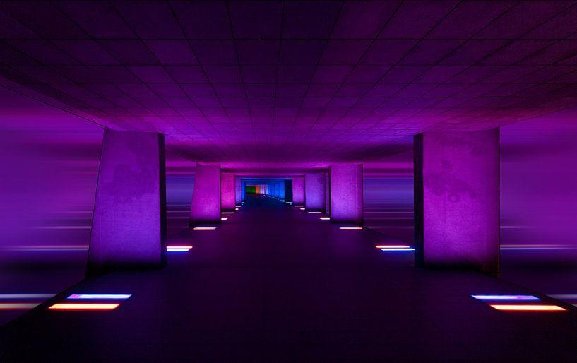 Purple Planet / Rotterdam van Rob de Voogd / zzapback