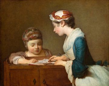 Die kleine Schulmeisterin, Jean-Baptiste Siméon Chardin