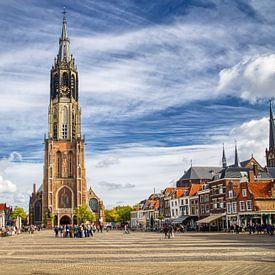 De Markt van Delft van Jan Kranendonk