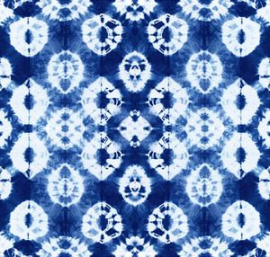 Batik Blauw