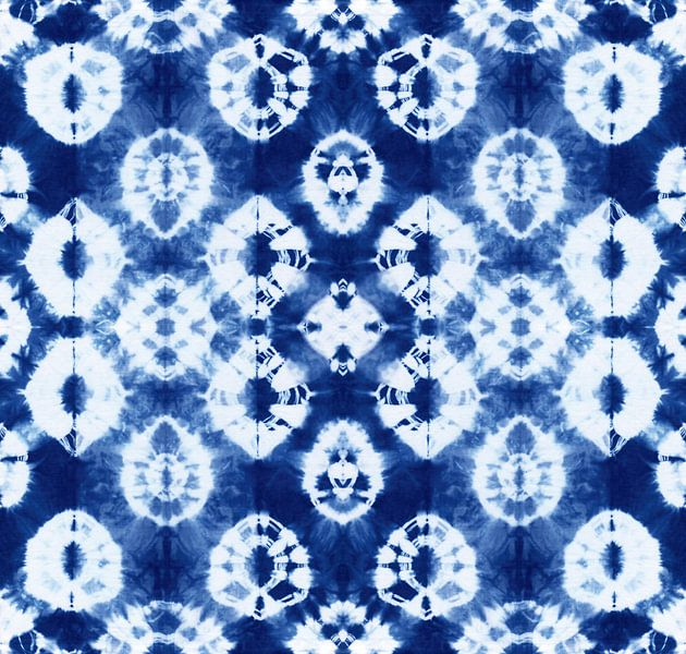 Batik Blauw van Coco Korse
