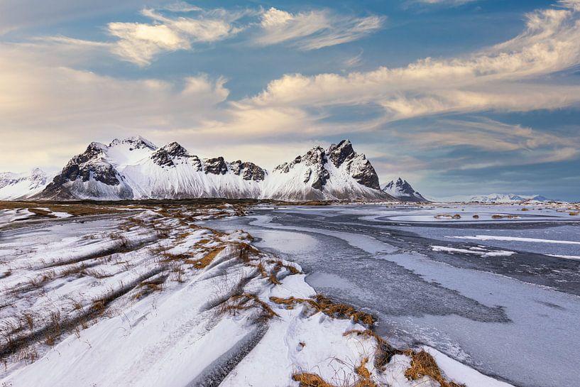 Stokksnes in de winter van Tilo Grellmann | Photography