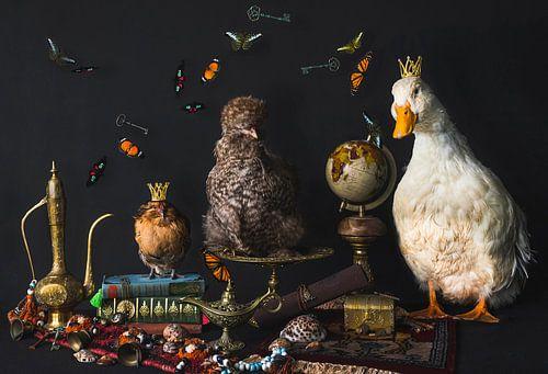 Stilleven pluimvee, stillife poultry