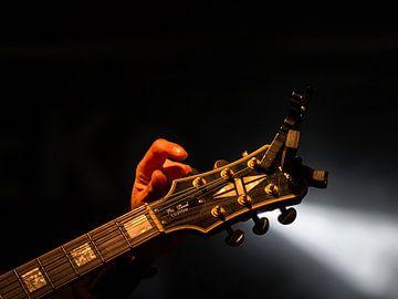 guitarhead von Michel De Pourcq