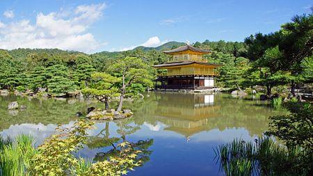 Golden Temple in Kyoto, Japan von Aagje de Jong