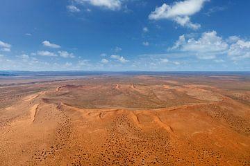 Red Crest Krater in Namibië