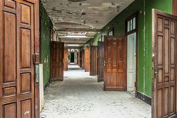 De deuren met een geheim achter elke deur von Jacqueline Lopez Perez