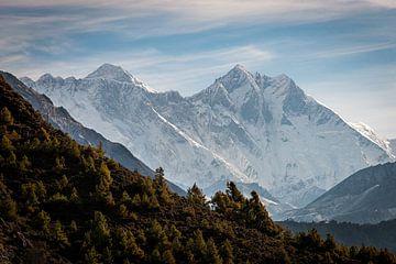 Vue sur l'Everest sur Felix Kammerlander