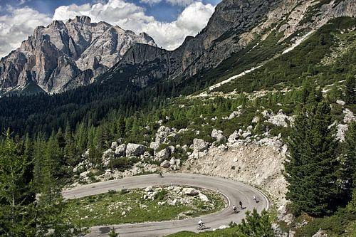 Berglandschap Passo Valparola, Dolomieten van