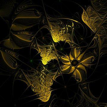 yellow on black van Isa Bild