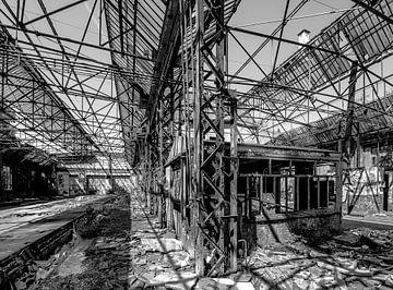 Urbex-Bahnhof von Olivier Photography