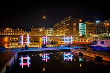 Maastricht by night, Bassin van Carola Schellekens