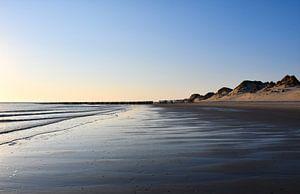 Aan de kust de Zeeuwse kust