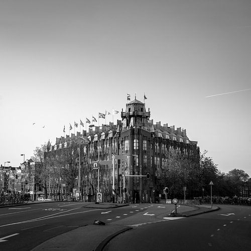 Prins Hendrikkade - Scheepvaarthuis van