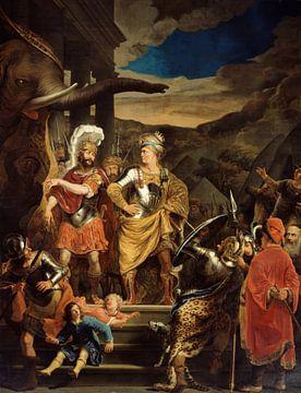Fabritius and Pyrrhus, Ferdinand Bol