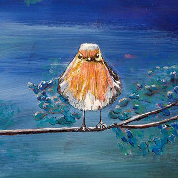 """""""pieps"""" little bird van Susanne A. Pasquay"""