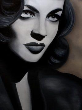 Lauren Bacall von anja verbruggen
