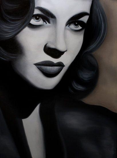 Lauren Bacall van anja verbruggen