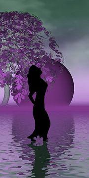 lila Tanz van