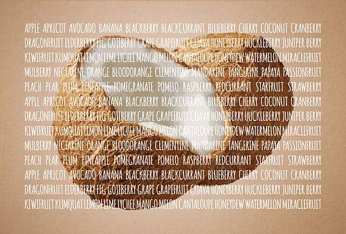 Fruities in kleur Kokosnoot