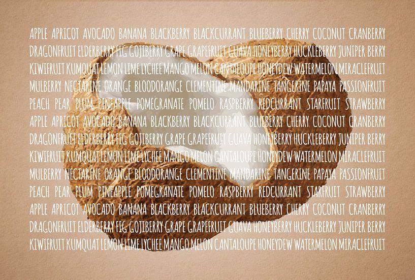 Fruities in kleur Kokosnoot van Sharon Harthoorn